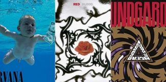 """Nevermind"", do Nirvana, ""Blood Sugar Sex Magik"", do RHCP e ""Badmotorfinger"", do Soundgarden"