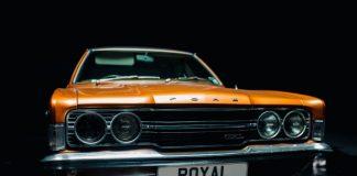 Foto do carro do Royal Blood