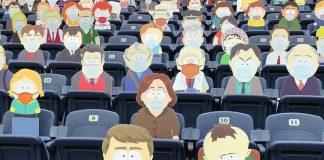"""Cidadãos de """"South Park"""" em jogo da NFL"""
