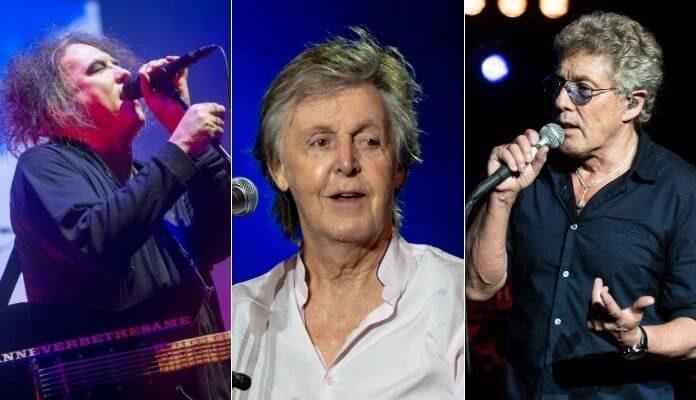 The Cure, Paul McCartney e The Who transmitirão shows inéditos