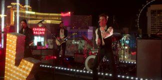 "The Killers tocando ""Mr. Brightside"" em Las Vegas"