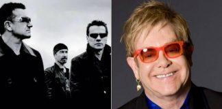 U2 e Elton John participam de tributo a Marc Bolan