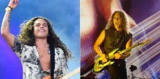 Vitão e Kirk Hammett