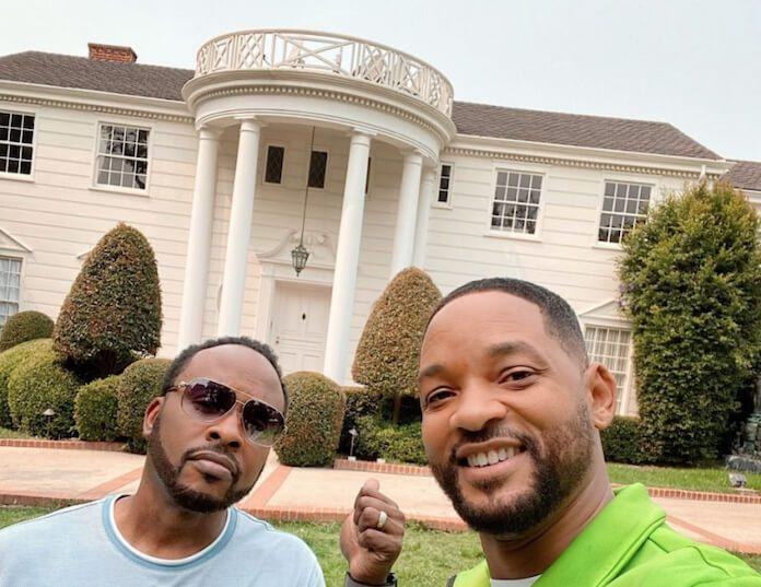 Will Smith e a mansão de