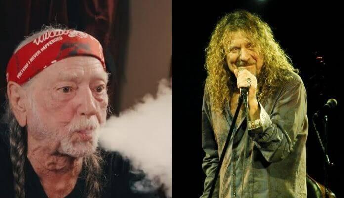 Willie Nelson e Robert Plant