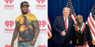 50 Cent e Lil Wayne com Donald Trump