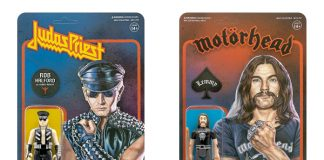 Rob Halford do Judas Priest e Lemmy Kilmister do Motörhead