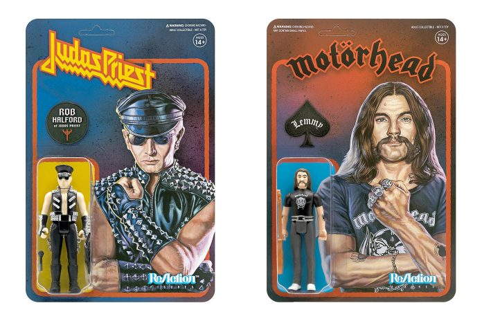 Rob Halford do Judas Priest e Lemmy Kilmister do Motörhead