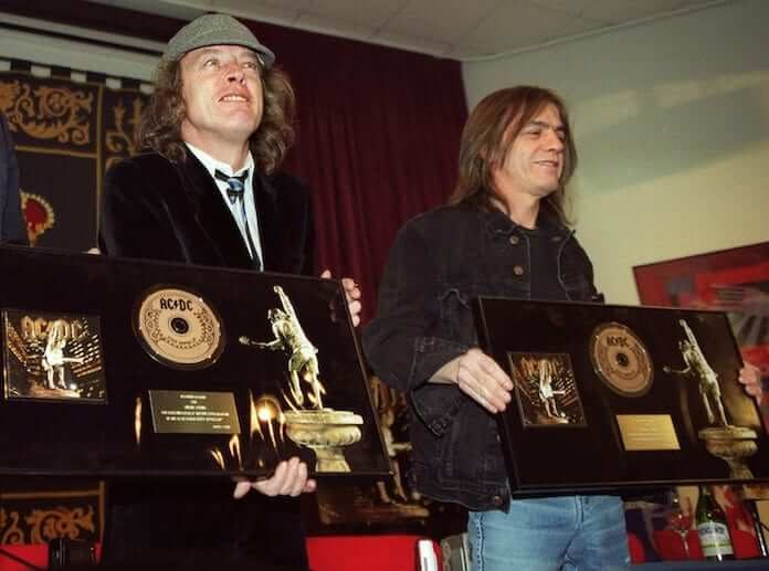 Angus Young e Malcolm Young