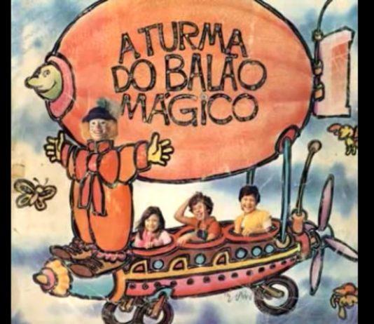 """Capa de """"A Turma do Balão Mágico"""" (1983)"""