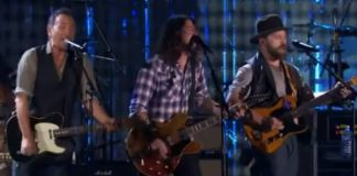 Bruce Springsteen, Dave Grohl e Zac Brown Band