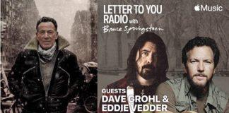 Bruce Springsteen, Dave Grohl e Eddie Vedder