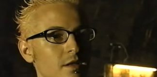 Chester Bennington em making of do Linkin Park