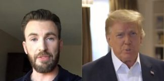 Chris Evans e Donald Trump