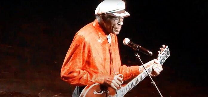 Chuck Berry em seu último show
