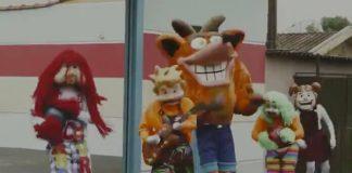 Crash Bandicoot com a Carreta Furacão