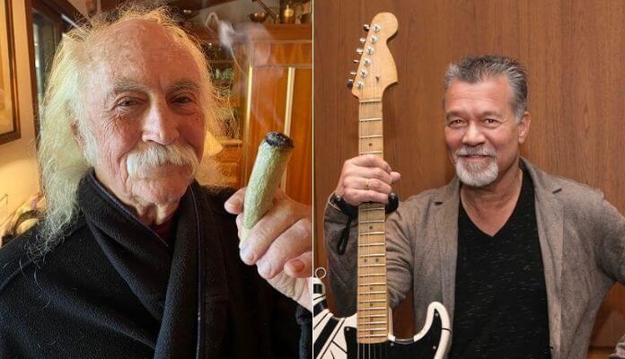 David Crosby e Eddie Van Halen