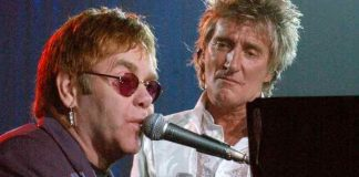 Elton John e Rod Stewart