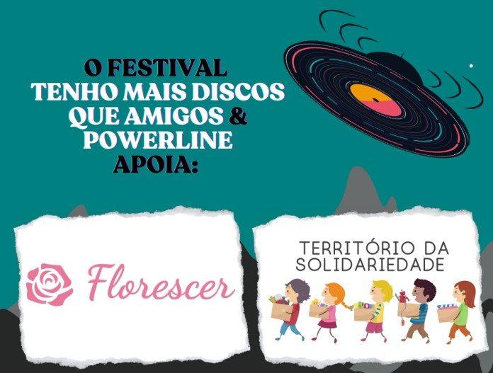 Doações no Festival TMDQA! e Powerline