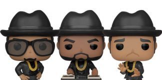 Bonecos Funko do Run-DMC