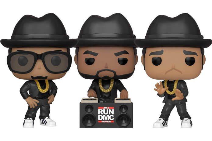 Bonecos Funko do Run-DMC