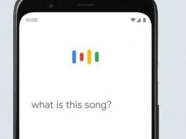 Procura de música no Google