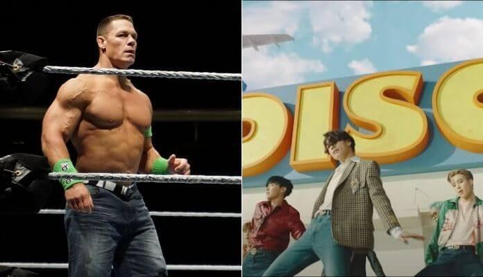 John Cena e o BTS