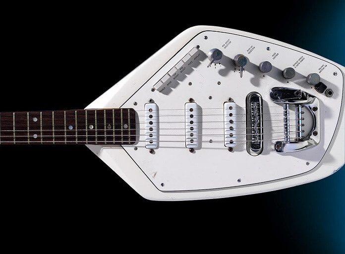 Guitarra de Ian Curtis, do Joy Division