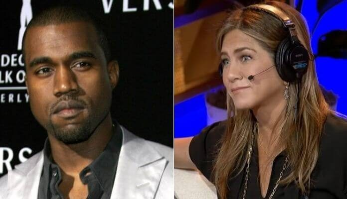 Kanye West e Jennifer Aniston