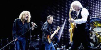 Led Zeppelin em show de reunião