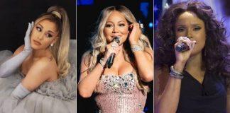 Ariana Grande, Mariah Carey e Jennifer Hudson
