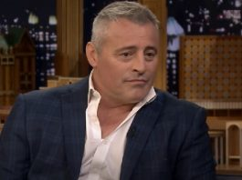 Matt LeBlanc, o Joey de Friends