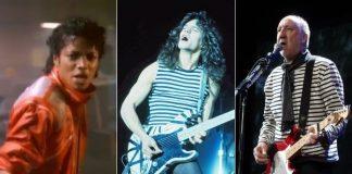 Michael Jackson, Eddie Van Halen e Pete Townshend
