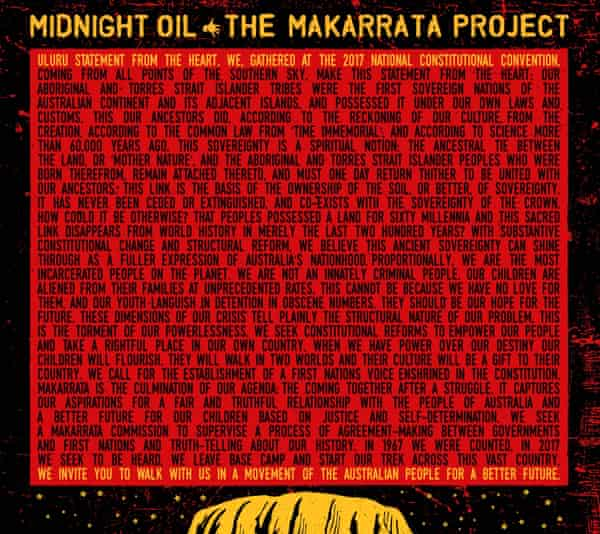 "Midnight Oil - ""The Makarrata Project"""
