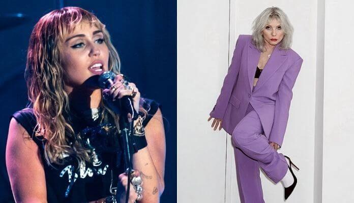 Miley Cyrus e Debbie Harry