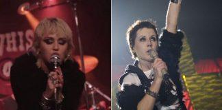 Miley Cyrus e Dolores O'Riordan