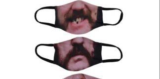 Motörhead lança coleção de máscaras com rosto de Lemmy Kilmister