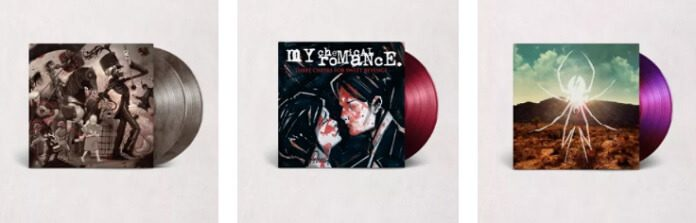 Discos de vinil do My Chemical Romance
