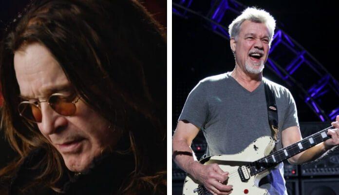 Ozzy Osbourne e Eddie Van Halen