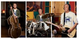 "Paul McCartney gravando ""McCartney III"""