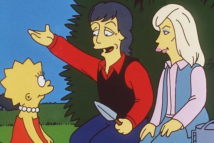 Paul McCartney e Linda McCartney em