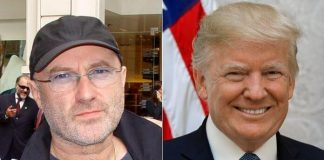 Phil Collins e Donald Trump