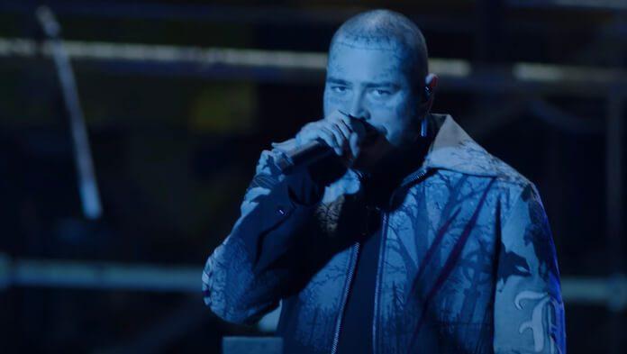 Post Malone no Billboard Awards