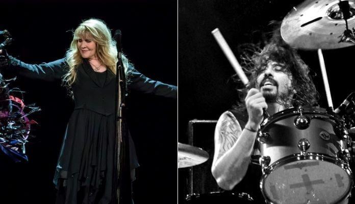 Stevie Nicks e Dave Grohl