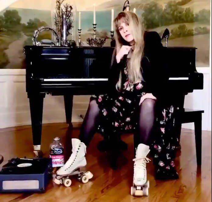 Stevie Nicks recria TikTok viral