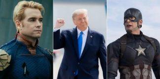 The Boys, Donald Trump e Capitão América