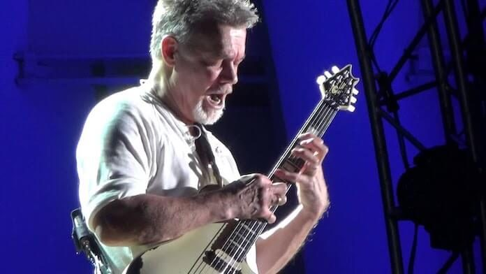 Eddie Van Halen em seu último show