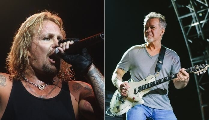 Vince Neil e Eddie Van Halen