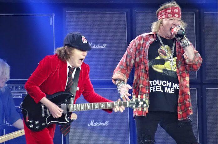 AC/DC com Axl Rose