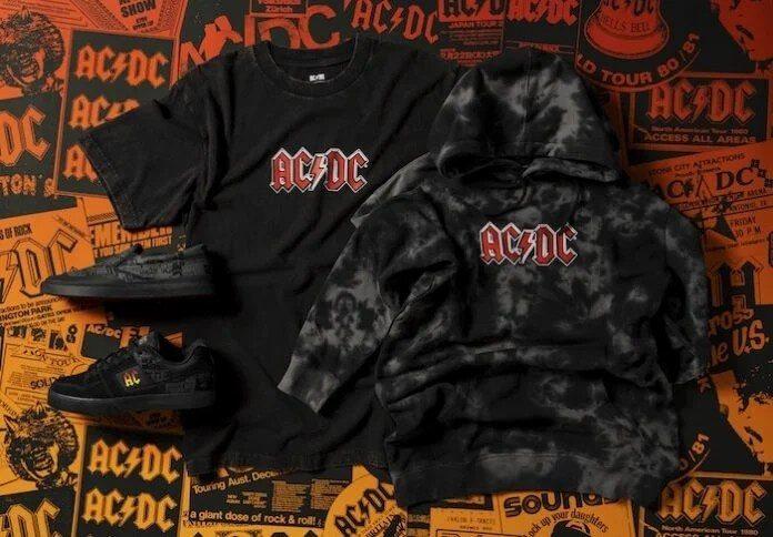 Linha da DC Shoes do AC/DC